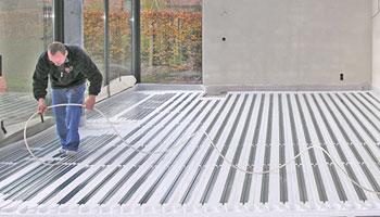 Fußboden Trockenbauweise ~ Thermolutz fußbodenheizung system ne te thermolutz