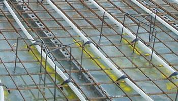 Fußbodenheizung Rohre Verlegen ~ Industriefußbodenheizung mit indufix die neuartige montagetechnik