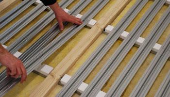 Häufig THERMOLUTZ Fußbodenheizung System ECONOM-FLEX - THERMOLUTZ QK13